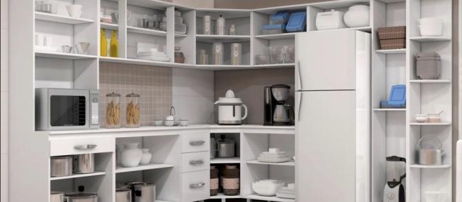Como organizar o arm rio da cozinha blog bibeli - Como organizar un armario pequeno ...