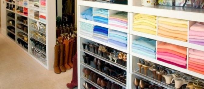 Organizando um closet em apenas 1 dia!!