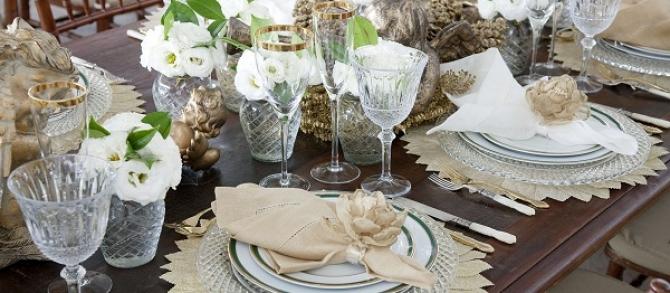 10 Dicas para arrumar a mesa da virada sem gastar!!!